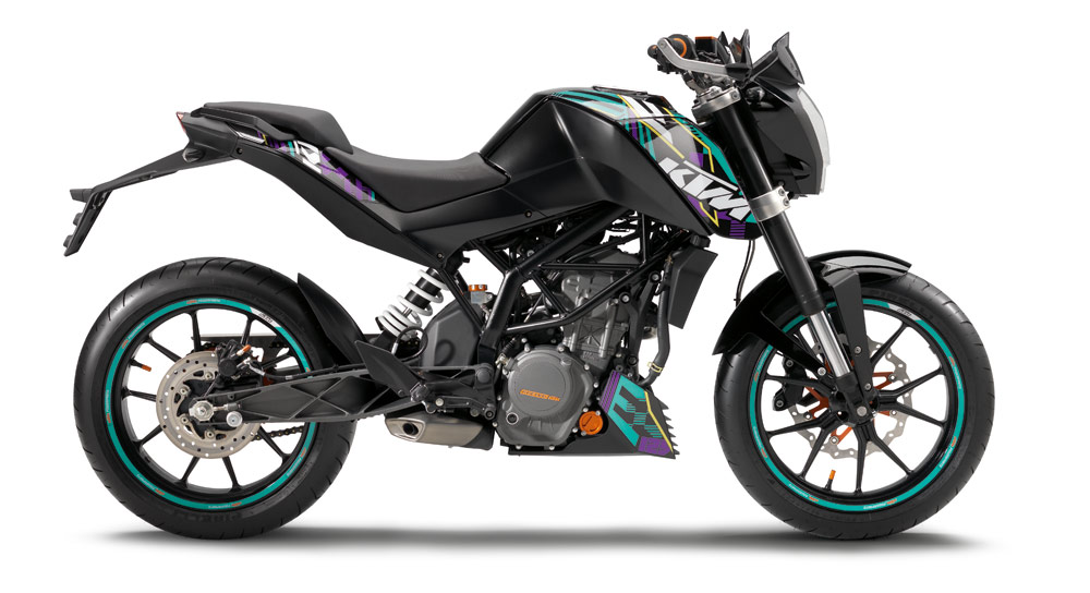 ktm duke 125cc lan amento para atrair jovens motorede. Black Bedroom Furniture Sets. Home Design Ideas