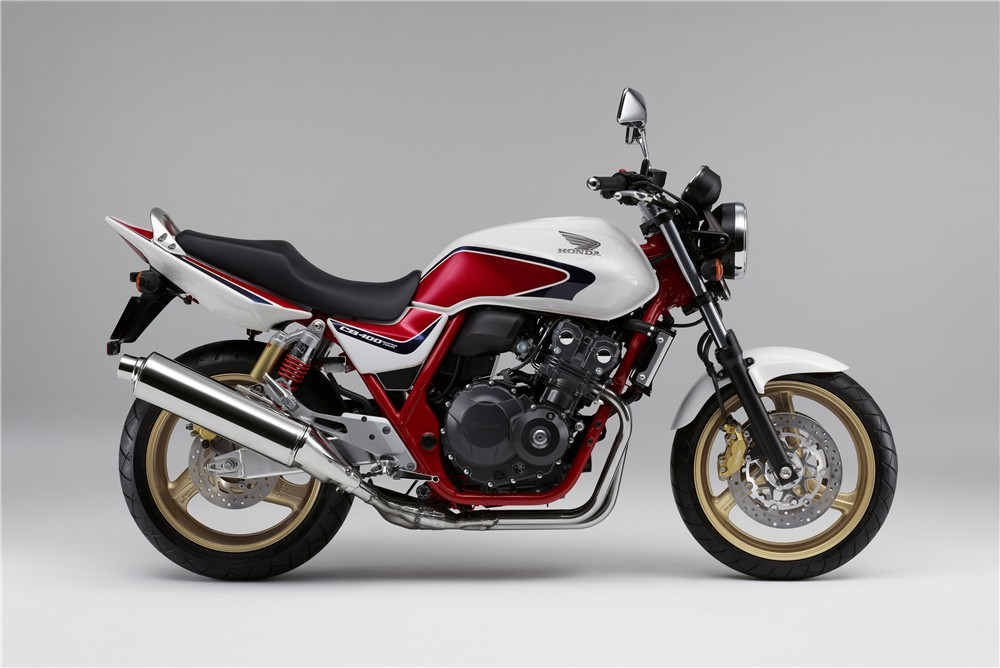 Apresentada edição especial da Honda CB 400, a Super Four ...