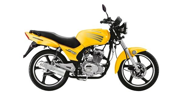 Dafra Speed 150 2013 2014 Amarela