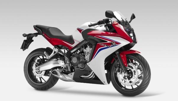 Honda CBR 600F nova CBR 650F 2014 01