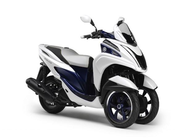 Novo Yamaha Tricity, Scooter de 3 rodas da Yamaha | Motorede