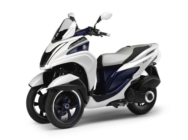 Novo yamaha tricity scooter de 3 rodas da yamaha motorede