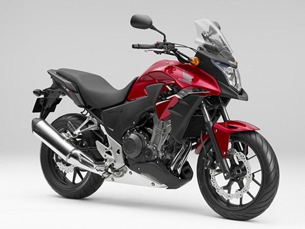 Nova honda cb 500x 2014 chega s lojas este m s veja seu for Yamaha 400cc motorcycle