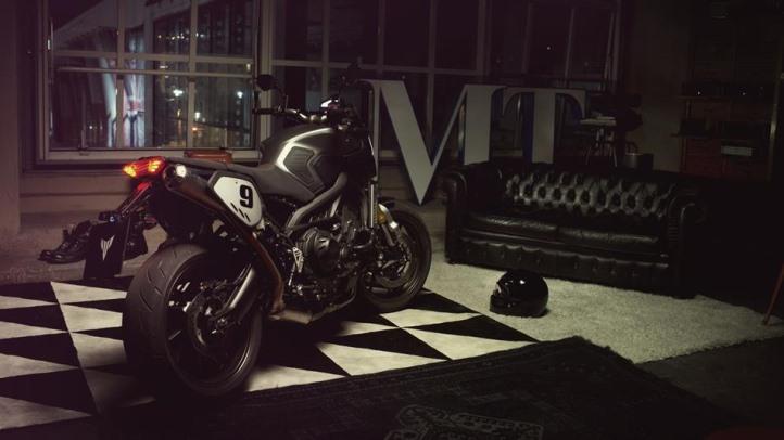Nova MT-09 Street Tracker Scrambler Yamaha