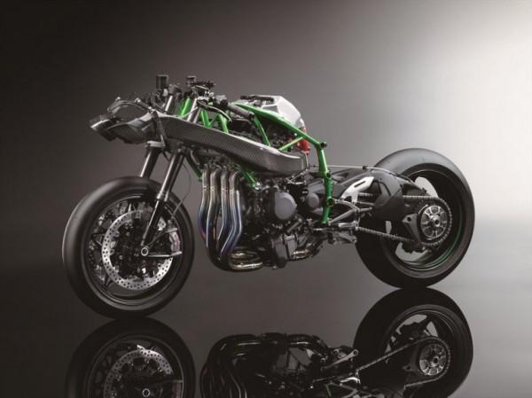 Kawasaki Ninja H2R 300cv