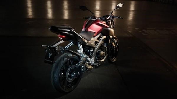 Pequena naked Yamaha MT125 ganha ABS