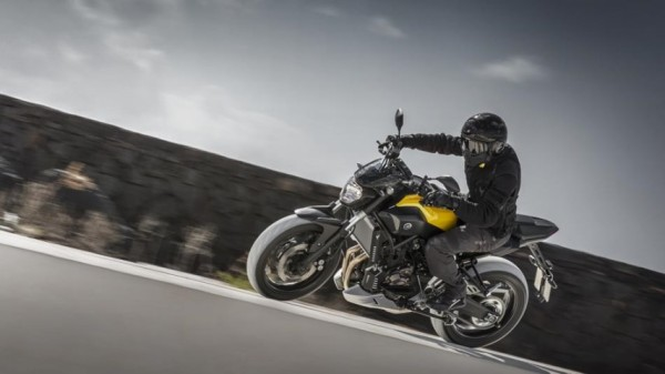 Yamaha MT-07 Extreme Yellow 2015
