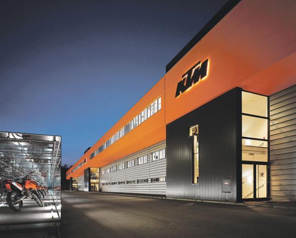Lojas KTM no Brasil 2014