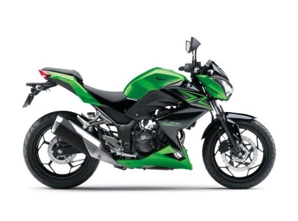 Nova Kawasaki Z300 2015