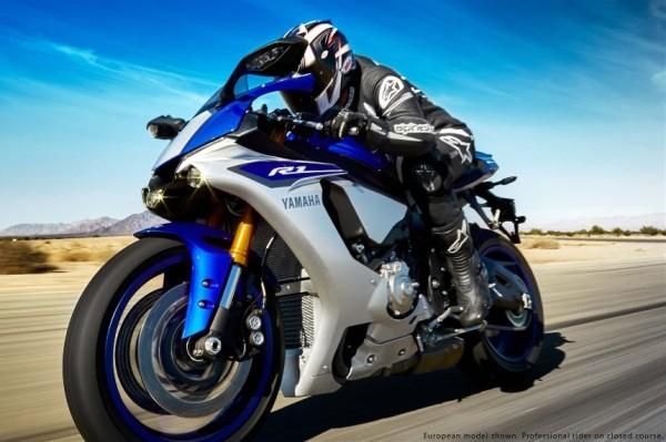 Nova Yamaha YZF R1 2015 lancamento