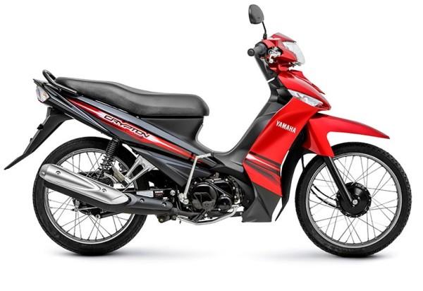 Yamaha T 115 Crypton K  Vermelha