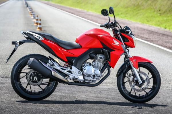 Nova Honda CB Twister 2016 250