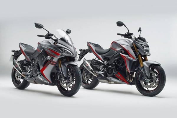Suzuki anuncia edições especiais para a GSX-S1000 e a GSX-S100F
