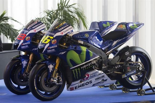 Yamaha M1 2016: Montadora apresenta versão 2016 das motocicletas da equipe para a MotoGP