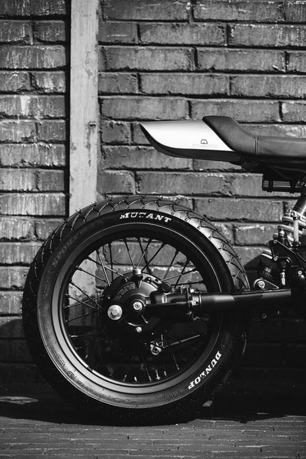 Blacktrack BT-01 – Café Racer com DNA da Honda CX 500 4
