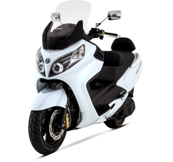 Dafra Maxsym 400i tem redução para brigar com Honda SH 300i 1