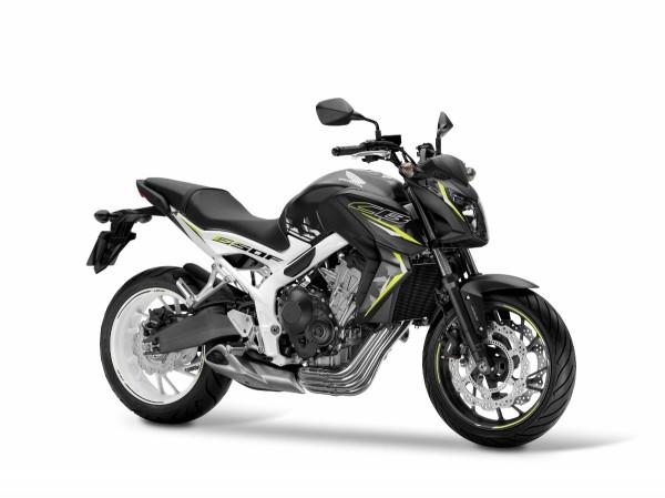 Nova Honda CB 650F 2016