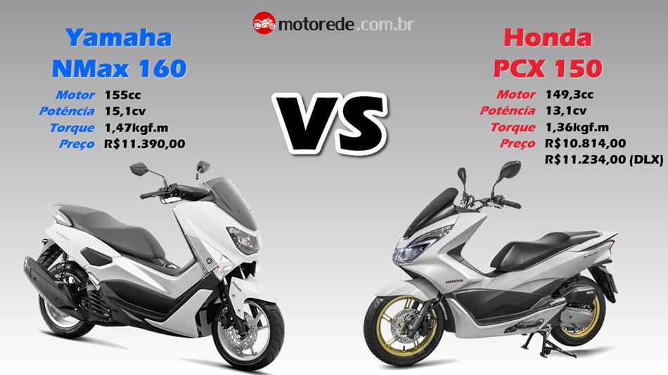 Compara 231 227 O Nmax 160 Vs Pcx 150 2016 07 Motorede