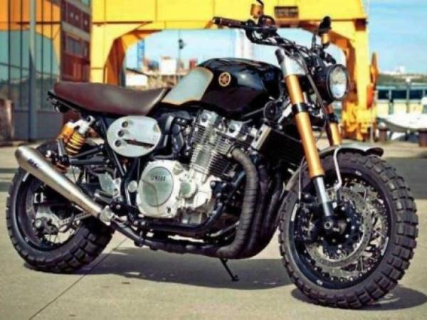 Yamaha XJR1300 Scrambler é custom para ninguém botar defeito 1
