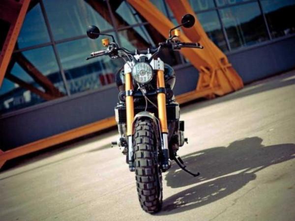 Yamaha XJR1300 Scrambler é custom para ninguém botar defeito 3