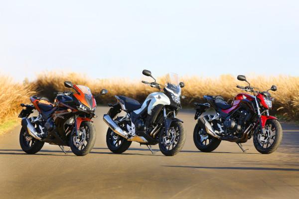 Honda atualiza as CB 500F, CBR 500R e CBR 500X 4