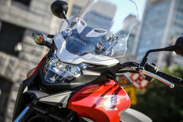 Nova Honda CB500X 2016 no Brasil