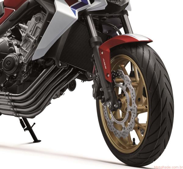 Nova Honda CB 650F 2017 chega ao mercado 5 lançamento motos 2017