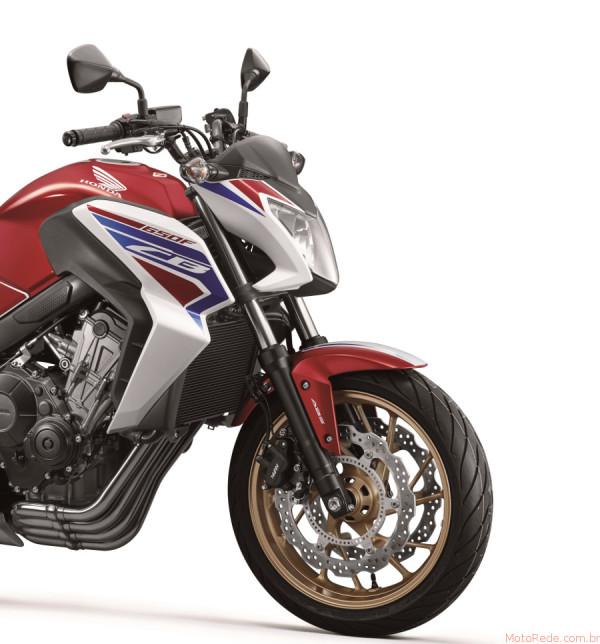 Nova Honda CB 650F 2017 chega ao mercado 6 lançamento motos 2017