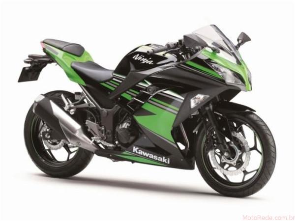 Nova Kawasaki Ninja 300 2017 chega ao Brasil 3