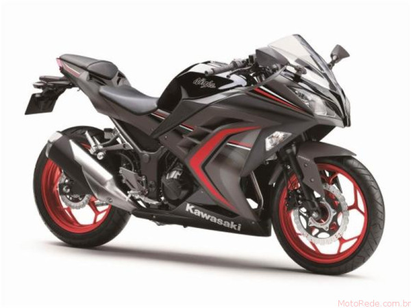 Nova Kawasaki Ninja 300 2017 chega ao Brasil 4