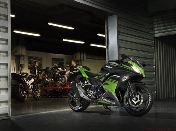Nova Kawasaki Ninja 300 2017 chega ao Brasil 7