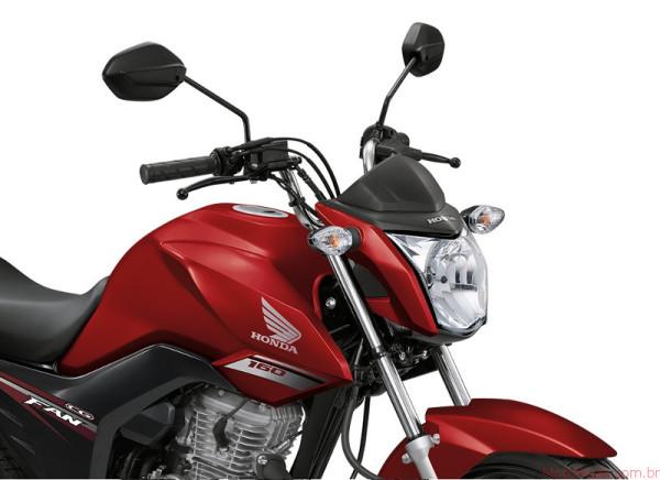 Honda CG 160 Fan 2017 chega em agosto por R$8.720 6 lançamentos 2017 lançamentos honda
