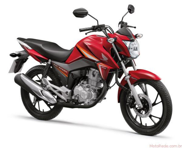 Honda CG 160 Titan 2017 chega por R$9.970 ainda esse mês 1 lançamentos 2017 lançamentos honda
