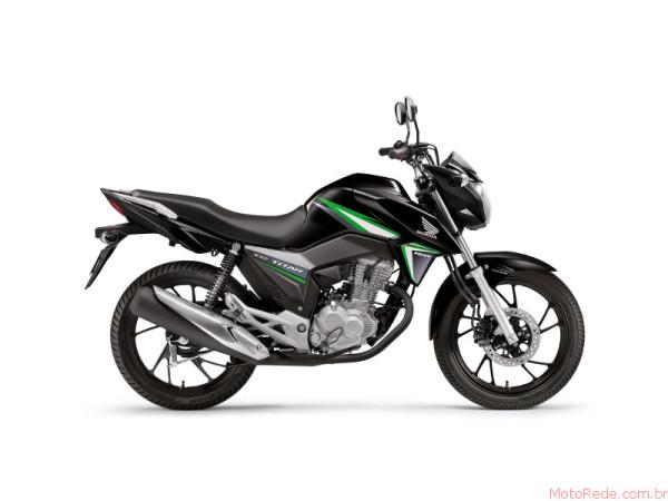Honda CG 160 Titan 2017 chega por R$9.970 ainda esse mês 3 lançamentos 2017 lançamentos honda