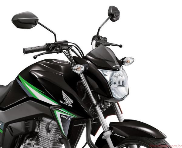 Honda CG 160 Titan 2017 chega por R$9.970 ainda esse mês 4 lançamentos 2017 lançamentos honda