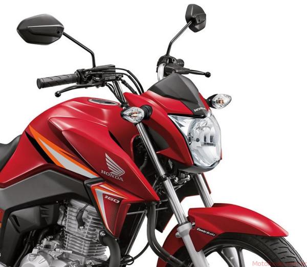 Honda CG 160 Titan 2017 chega por R$9.970 ainda esse mês 6 lançamentos 2017 lançamentos honda