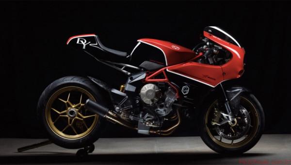 MV Agusta Forged Carbon é Brutale 800 Cafe Racer 1 custom lançamentos 2017 motos customizadas