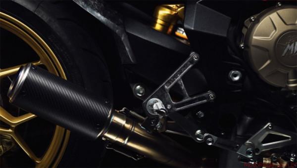 MV Agusta Forged Carbon é Brutale 800 Cafe Racer 2 custom lançamentos 2017 motos customizadas
