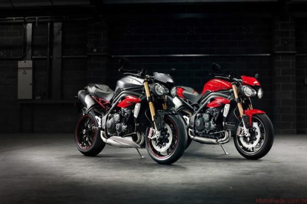 Nova Triumph Speed Triple R 1050 chega por R$59.500 3 lançamentos 2017 lançamentos motorede