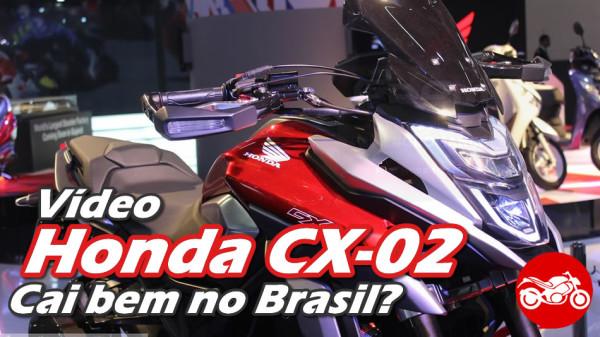 Honda CX-02 vai substituir XRE 300?