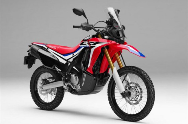 nova honda crf 250 rally 2017 motorede. Black Bedroom Furniture Sets. Home Design Ideas