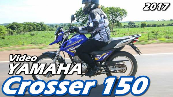 Vídeo nova Yamaha Crosser 150 2017