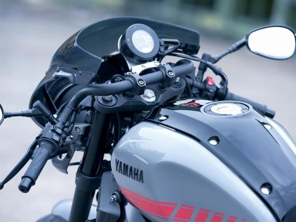 Nova Yamaha XSR 900 Abarth