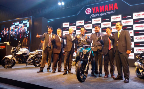 nova Yamaha Fazer 250 1