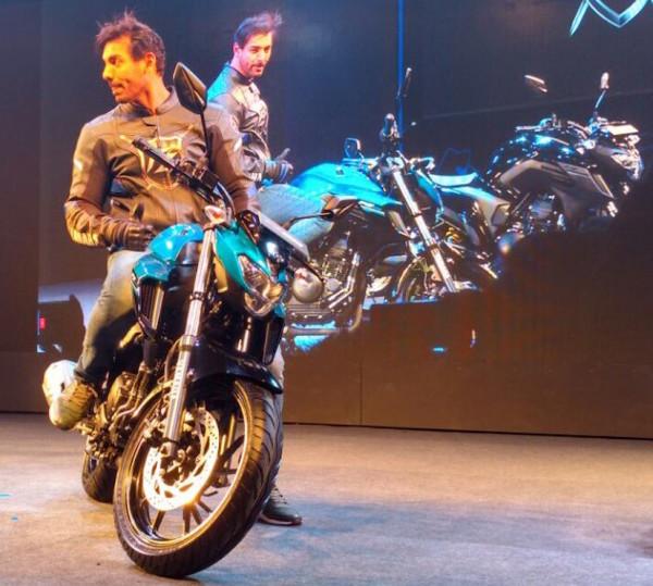 nova Yamaha Fazer 250 2