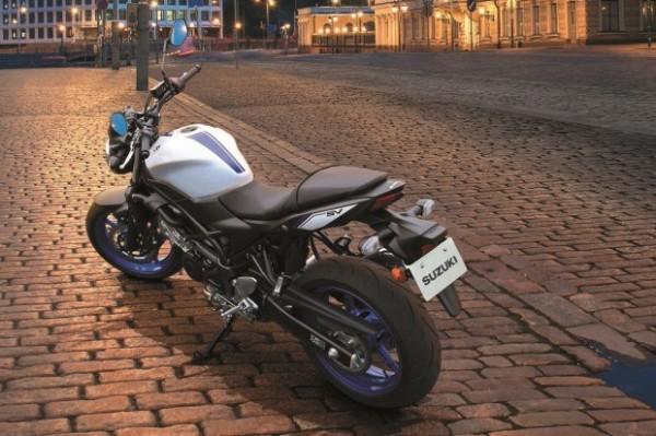 nova Suzuki SV 650