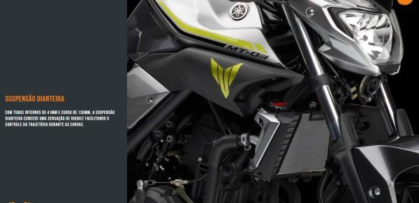 Yamaha MT-03 2018 Especificações Técnicas