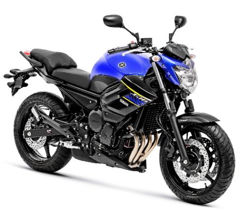 nova Yamaha XJ6N 2018 2