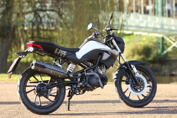 Kymco K-PIPE 125 no Brasil