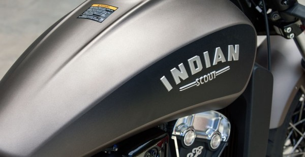 Indian Scout Bobber Tanque